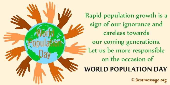 World Population Day Wishes Image