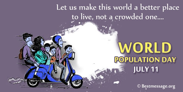 World Population Day Picture Wishes