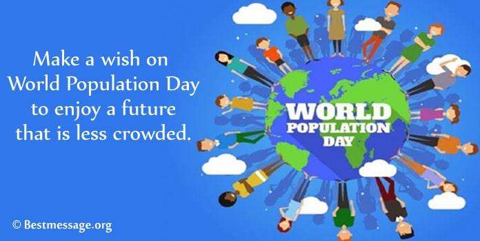 World Population Day Greeting Messages Picture