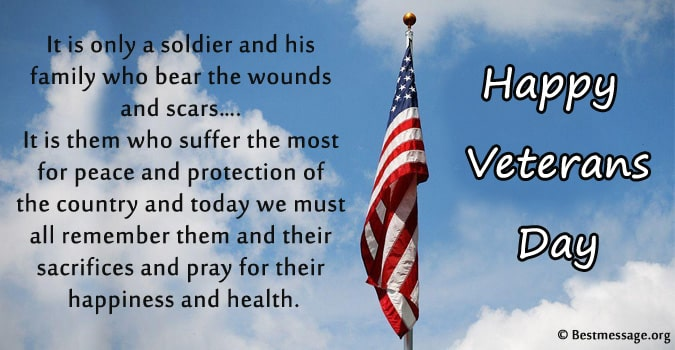 Happy Veterans Day Wishes, Quotes