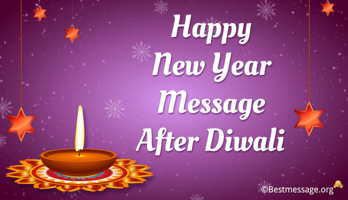 Happy new year Messages after Diwali