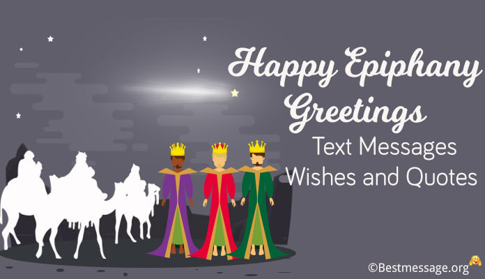 Happy Epiphany holiday Greetings Text Messages, Epiphany Wishes Image, Epiphany Quotes