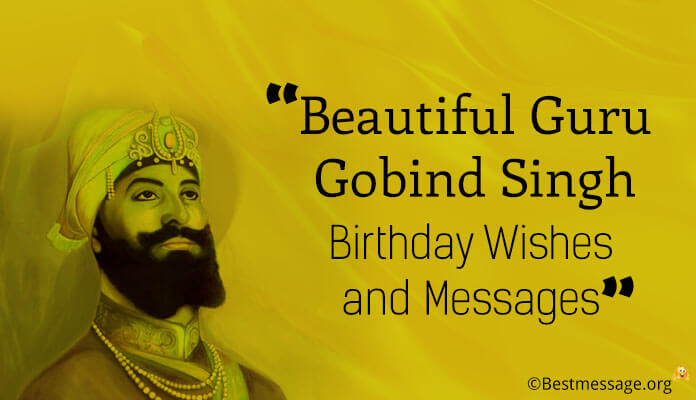 Guru Gobind Singh Jayanti Messages, Wishes Greetings Photos, images