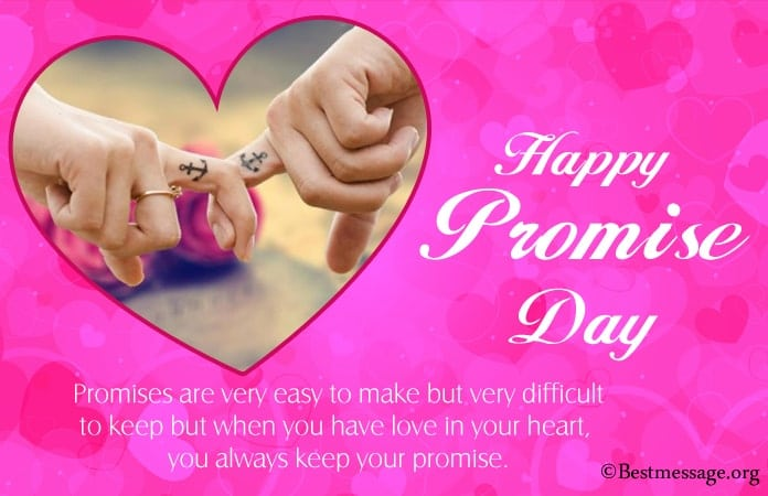 Happy Promise Day Messages Images, Promise Quotes