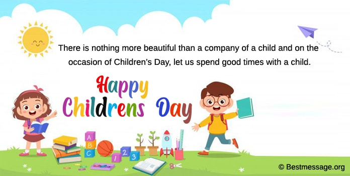 Best Children's Day Quotes, Wishes, Messages Image