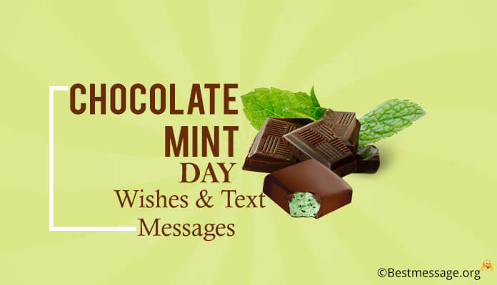 national Chocolate Mint Day Wishes Greetings Messages, chocolate mint day pictures. Images