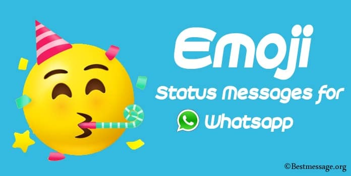 Best Emoji Status, Emoji Whatsapp Messages
