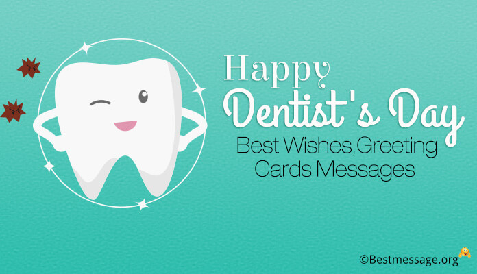 Happy National Dentist's Day 60 Best Wishes Greeting Cards Messages Mesmerizing Dentist Quotes