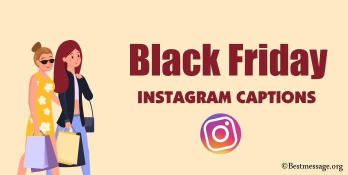 Black Friday Instagram Captions For Social Media