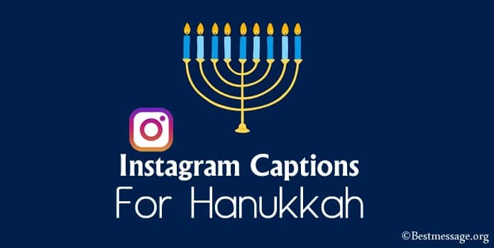 Best Hanukkah Instagram Captions, Hanukkah Captions