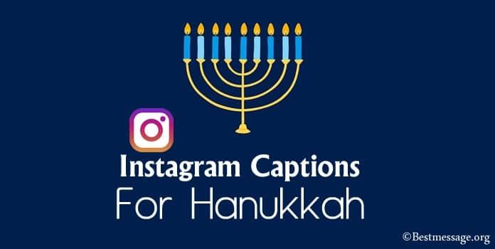 Best Hanukkah Instagram Captions, Hanukkah Captions