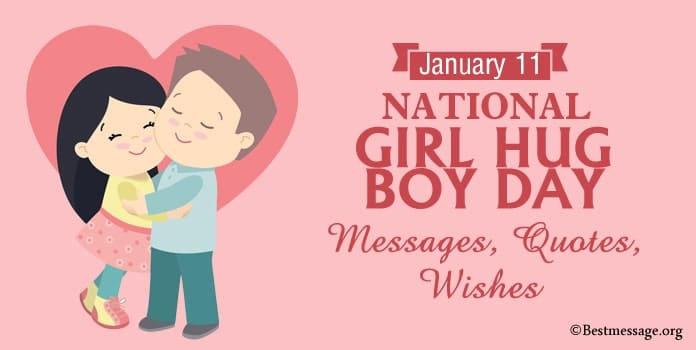 National Girl Hug Boy Day Messages, Hug Quotes, Hug Wishes Images