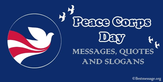 Peace Corps Day Messages, Peace Corps Quotes, Slogans