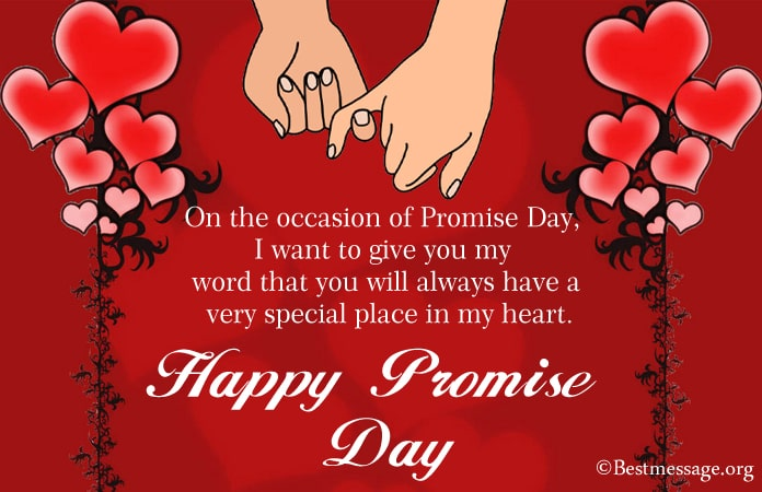 Promise Day Messages 2021, Romantic Promise Day Wishes
