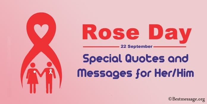 Rose Day Messages, Rose Day Special Quotes for Her Him