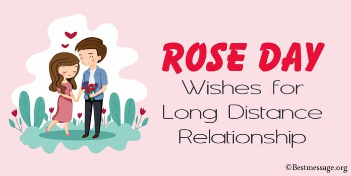 Rose Day Wishes Messages for Long Distance Relationship