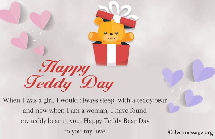 Happy Teddy Day 2021 Messages, Teddy Bear Pics Images