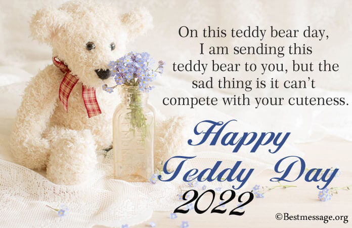 Happy Teddy Day 2021 Wishes, Messages Images