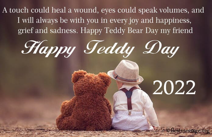 Teddy Bear Day Wishes Messages, Teddy Day Images 2021
