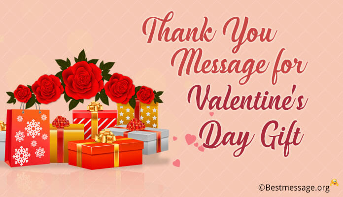 Valentine's Day Thank You greetings card Messages, Thank You Wishes Images