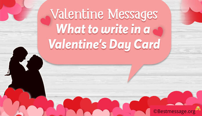 Valentine Messages 2018, What to write in a Valentine's Day Greeting Card Messages Image