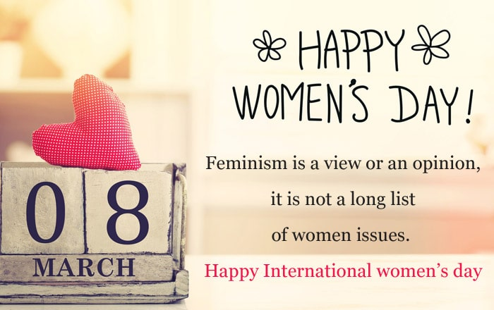 Women's Day Quotes, Sayings and Slogans Images