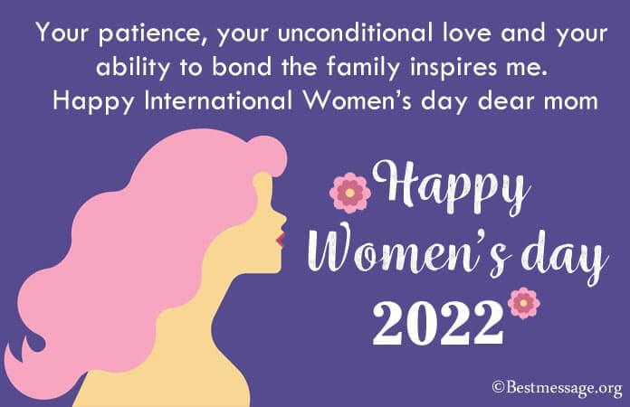 Happy Women's Day Wishes Messages and Quotes 2021