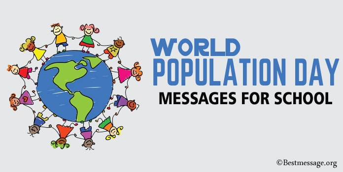 World Population Day Messages for School
