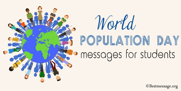 World Population Day Messages for Students