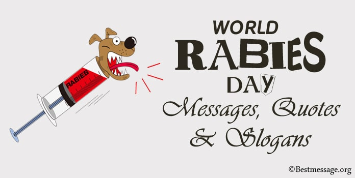 World Rabies Day Messages, Rabies Day Quotes, slogans