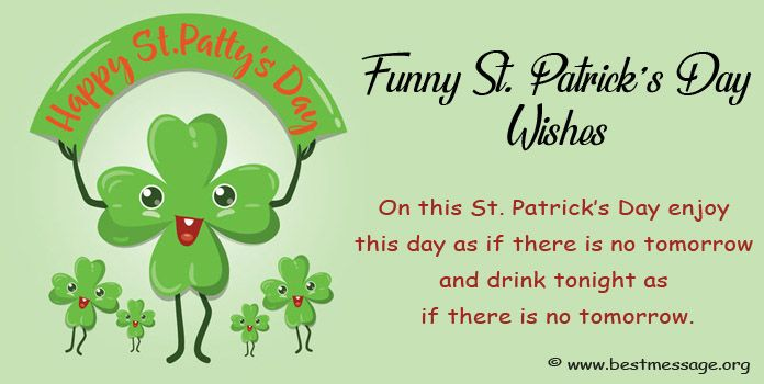 funny happy st patrick's day wishes, Greetings Messages