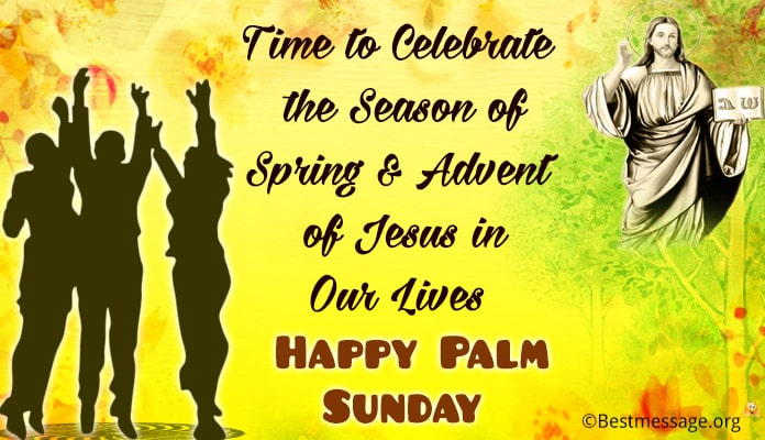 Palm Sunday Greetings Messages