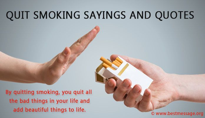Quit Smoking Sayings, Stop Smoking Quotes