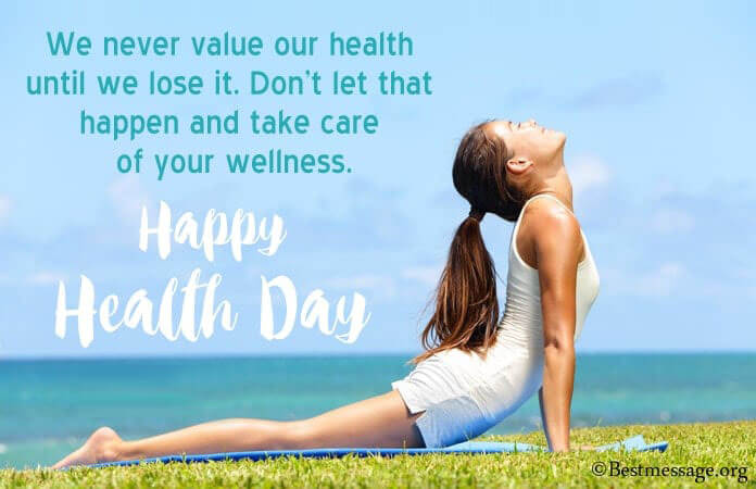 Health Day Messages Images 2021, Health Slogan, Wishes, Health Quotes