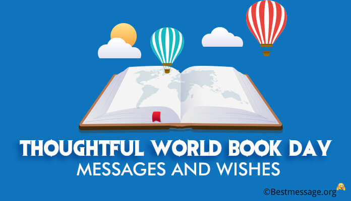 Beautiful World Book Day Greetings Messages
