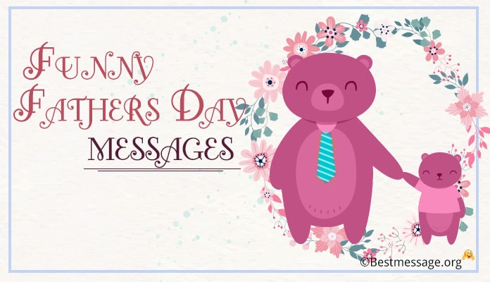 Funny Father's Day Cards Messages to Dad, Funny Fathers Day Wishes Greeting Images