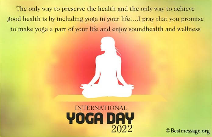 Happy Yoga Day Greetings Messages, Yoga Image 2021