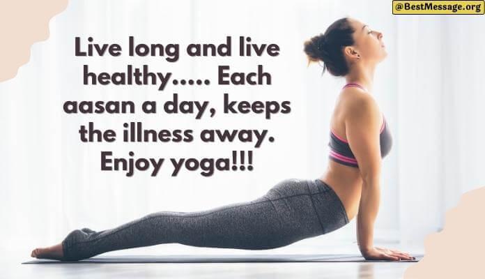 Best Slogans on Yoga, Yoga Day Slogans