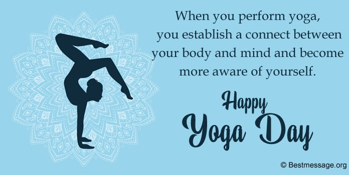 Yoga Messages Image, Yoga Day Messages