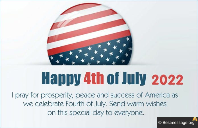 Happy 4th of July Wishes Messages Greetings 2021