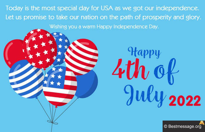 4th Of July Messages, USA Independence Day Wishes Images