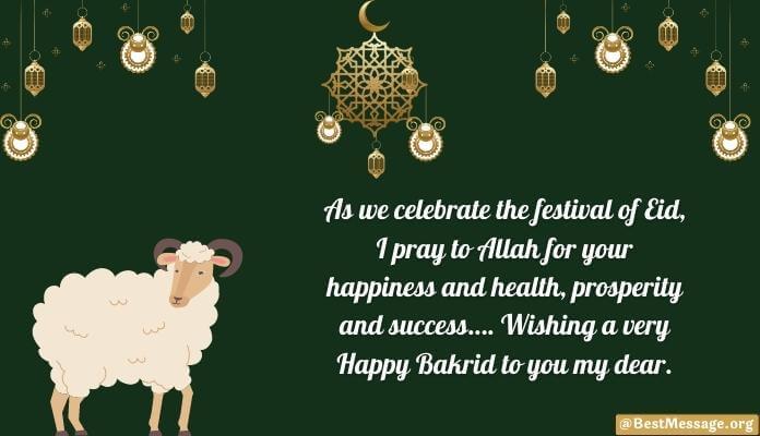 Happy Eid al-Adha Mubarak Wishes Bakrid Messages Image