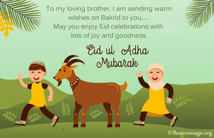 Happy Eid al-Adha Mubarak Messages Images 2021