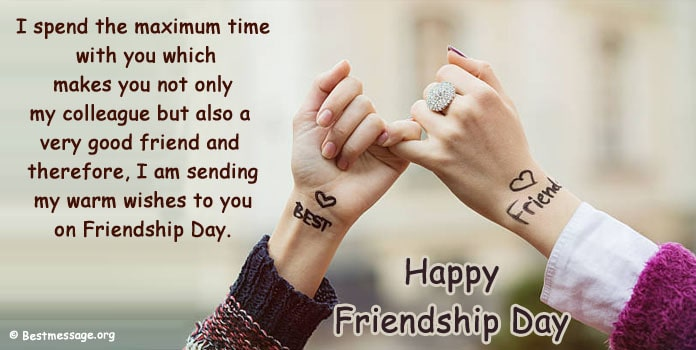 Friendship Day Greeting Card Messages