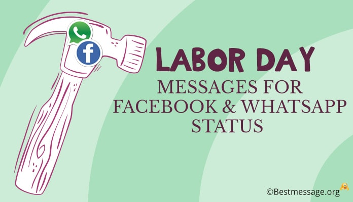 Labor Day 2018 Wishes Images - Labor Day Facebook and WhatsApp Status Messages, USA