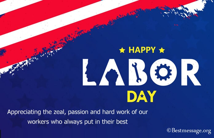 Labor day card messages, Labor Day greeting cards 2021