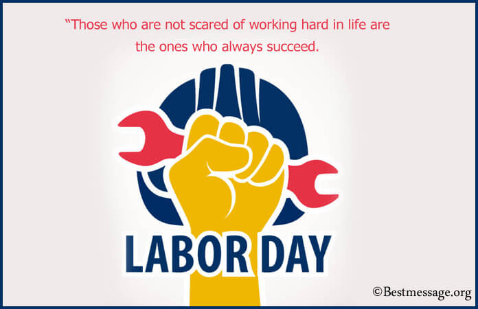 Best Labor day wishes, quotes in English