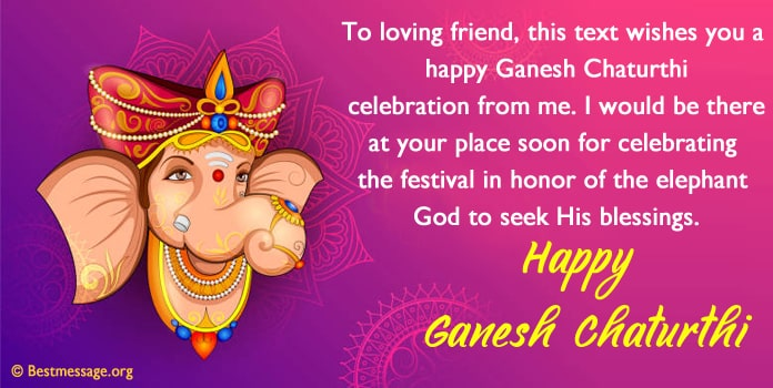 Ganesh Chaturthi Wishes, Greetings Image