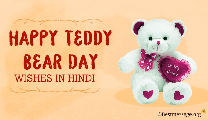 Hindi Teddy Bear Day Messages, Teddy Bear day Wishes, Status Messages 9th September