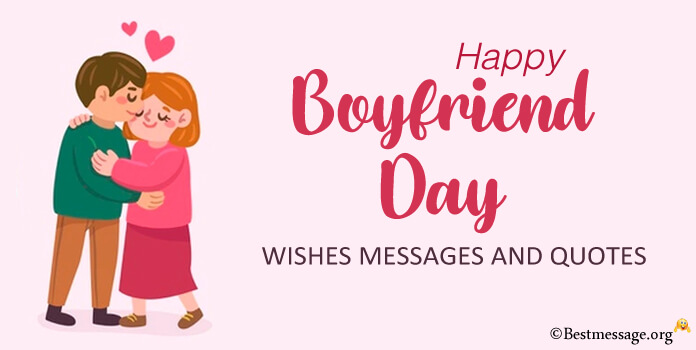 3 October National Boyfriend Day Boyfriend Messages and Wishes